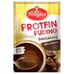 Amylon Protein Puding čokoládový bezlepkový 40 g