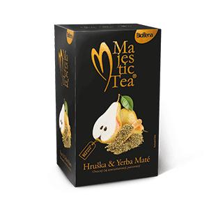 Biogena Majestic Tea hruška a yerba maté 20 x 2,5 g
