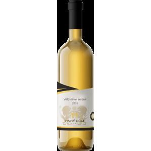 Vinný dům Veltlinské zelené 2016 bílé víno suché 750 ml