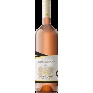Vinný dům Svatovavřinecké rosé 2017 suché 750 ml