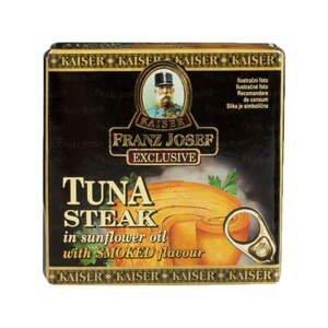 Franz Josef Kaiser Tuňák steak v rostlinném oleji s uzenou příchutí 80 g