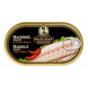 Franz Josef Kaiser Makrela filety v oleji s tabascem 170 g