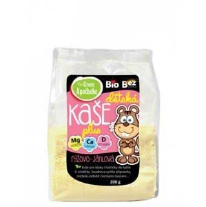 Green Apotheke Kaše Bio dětská rýžovo jáhlová 200 g