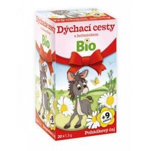 Apotheke Pohankový čaj Bio dýchací cesty s heřmánkem 20x1,5 g