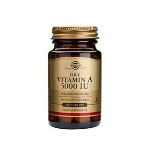 Solgar Vitamin A 5000 IU 100 tablet
