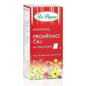 Dr. Popov Čaj Prohřívací se zázvorem 30 g