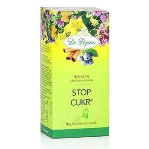 Dr. Popov Čaj Stop cukr 30 g