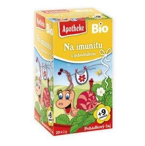 Apotheke Pohádkový čaj Bio imunita s jahodníkem 20x2 g