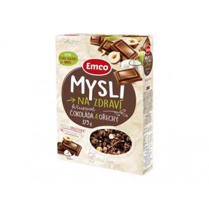 Emco Mysli - Čokoláda a ořechy 375 g - expirace