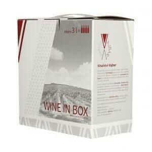 Vajbar Chardonnay moravské zemské víno 2018 polosuché Bag-in-box 3 l