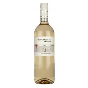 Vajbar Tramín červený jakostní víno s přívlastkem 2018 polosladké 0,75 l