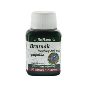MedPharma Brutnák lékářský 205 mg + pupalka 37 tablet - expirace