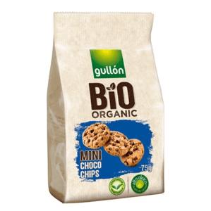 Gullón BIO Mini choco chips sušenky s kousky čokolády 75 g