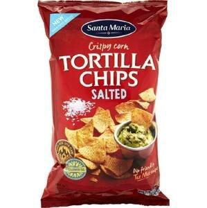 Santa Maria Tortilla chips solené 185 g
