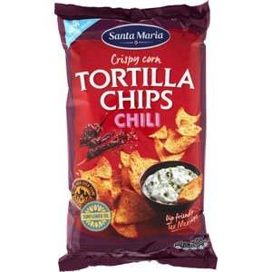 Santa Maria Tortilla chips chilli 185 g