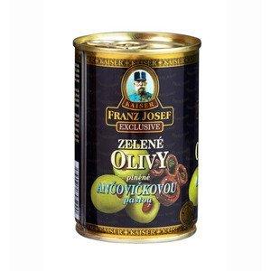 Franz Josef Kaiser Olivy zelené plněné ančovičkou 300 g
