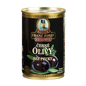 Franz Josef Kaiser Olivy černé bez pecky 314 ml / 300 g