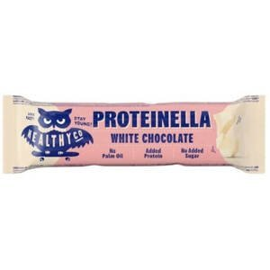 Healthyco Proteinella chocolate bar - bílá čokoláda 35 g