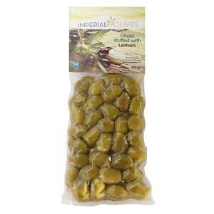 Imperial olives Zelené s citronem 250 g