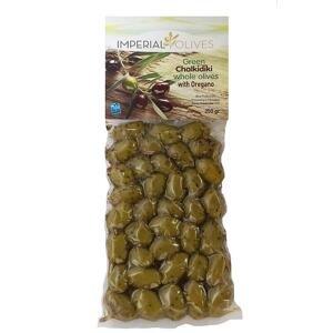 Imperial olives Zelené s oreganem 250 g