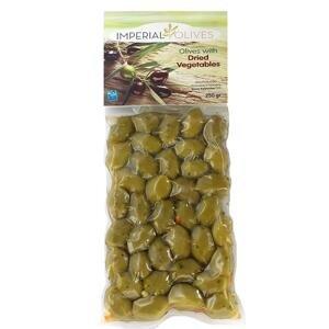 Imperial olives Zelené se sušenou zeleninou  250 g
