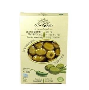 Olives Earth Olivy zelené s jalapeno 200 g