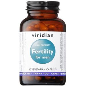 Viridian Fertility for Men 60 kapslí