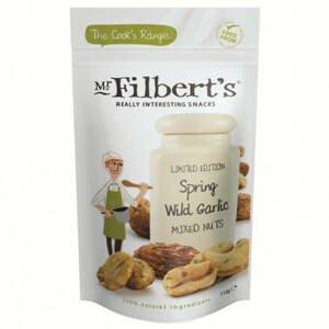 Mr. Filbert's Pražené ořechy s medvědím česnekem 110 g