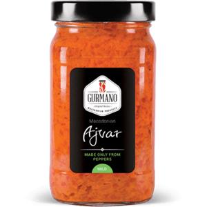 Gurmano Ajvar mild jemný 490 g