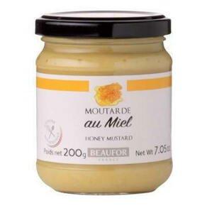 Beaufor Francouzská hořčice s medem (Moutarde au miel) 200 g