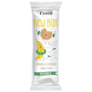 Cerea New bar banán a sušenka 33 g