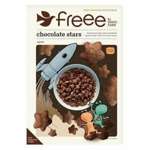Doves farm Čokoládové hvězdičky bez lepku BIO 300 g
