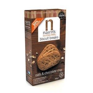 Nairns Ovesné sušenky s čokoládou 160 g