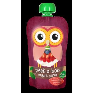 Peek-a-boo Řecký jogurt a bobulové ovoce BIO 113 g