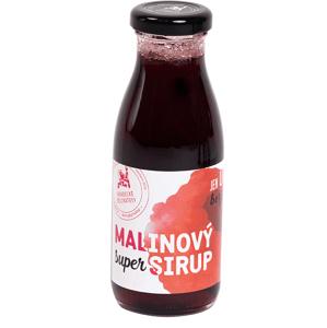 Hradecké delikatesy Super sirup malinový - poleva 250 ml