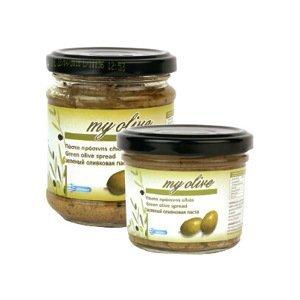 my olive Olivová pasta ze zelených oliv 180 g