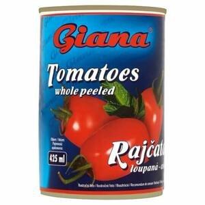 Giana Rajčata loupaná celá 425 ml