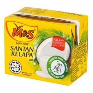 M&S Kokosová alternativa smetany 21% tuku 200 ml