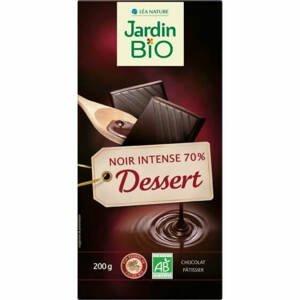Jardin Čokoláda hořká na vaření 70% BIO 200 g