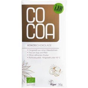 Cocoa Čokoláda kokosová BIO 50 g