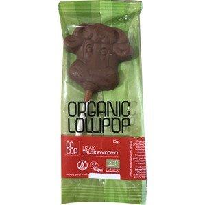 Cocoa Lízatko mandlová čokoláda BIO 15 g