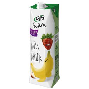 Rio Fusion jahoda - banán 1 l