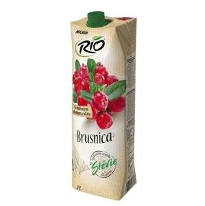 Rio Stévia brusinka 40 % 1l