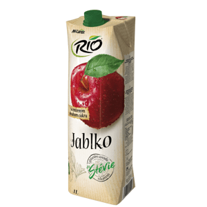 Rio Stévia jablko 40 % 1 l