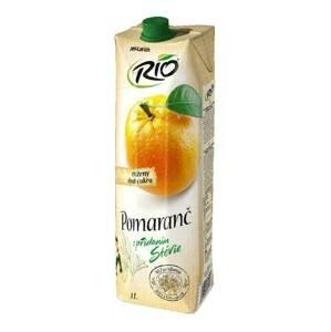 Rio Stévia pomeranč 40 % 1l