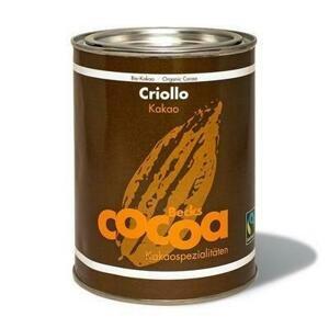 """Becks Cocoa BIO rozpustná čokoláda """"CRIOLLO"""" s nejlepším 100 % kakaem 250 g"""