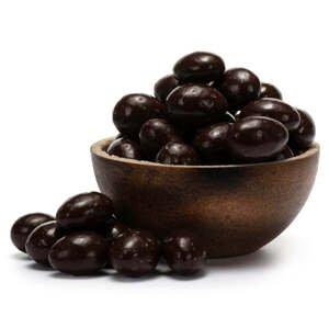 GRIZLY Mandle v hořké čokoládě BIO 250 g