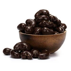 GRIZLY Kešu v hořké čokoládě BIO 250 g