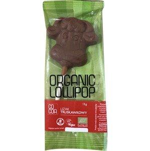 Cocoa Lízatko jahoda BIO 15 g