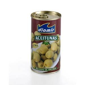 Diamir Olivy plněné ančovičkami Extra 350 g